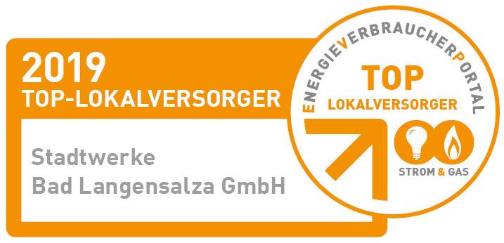 """SWL zum 6. Mal als """"TOP-Lokalversorger in der Strom- und Gasversorgung"""" ausgezeichnet"""