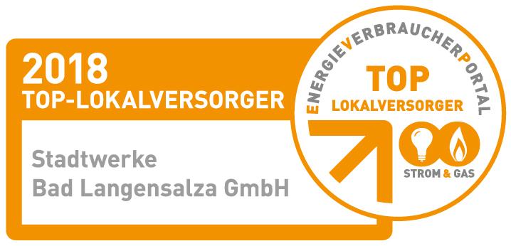 """Erneut """"TOP-Lokalversorger in der Strom- und Gasversorgung"""""""